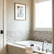 tile tub surround gray tiled with abbey beehive pendant vs cost