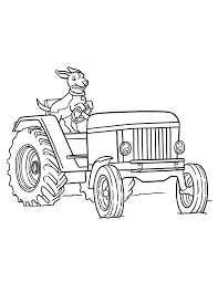 Small Picture Free Tractor Coloring Pages For Kids Tractors and construction