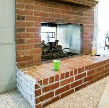 painting fireplace with white chalk paint diybeautify com