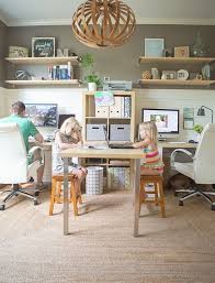 family office with kids homework station