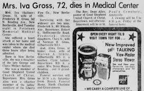Iva Gross obituary - Newspapers.com
