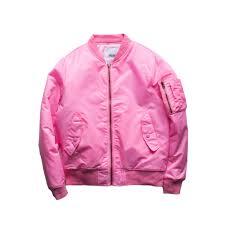 Bagus Jaket Warna Bomber Yang Pink