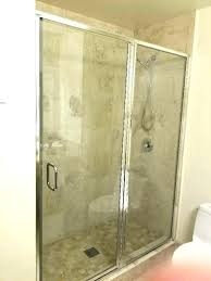 shower glass door seal framed pacific beach bottom subway tile what is kitchen di glass shower door
