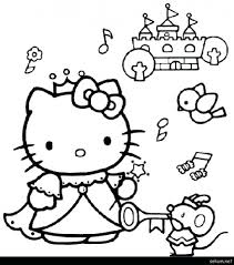 Just print out and have fun! Hello Kitty Coloring Book Pdf Colouring Pictures Page Monster High Heart Princess Calendar Golfrealestateonline