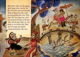 Trích minh họa truyện cổ tích Tấm Cám | Nghệ thuật, Tranh nghệ thuật, Nghệ