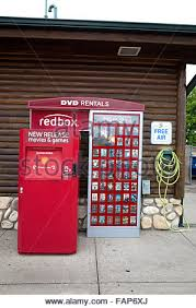 Dvd Rental Vending Machine Interesting Redbox DVD Movie Rental Vending Machine Alexandria Minnesota MN USA
