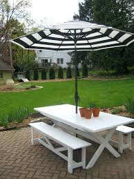 black white striped umbrella patio table with umbrella outdoor furniture black white stripes umbrella for