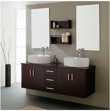 furniture bathroom marvelous two white sink and beautiful wood cabinet on combined brown color with beautiful combination wood metal furniture