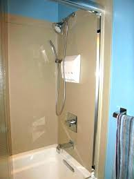 swanstone shower kit shower surrounds reviews swanstone shower wall trim kit