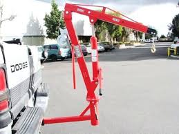 Truck Hoists Outdoor Mini Mounted Crane Small Electric Hoist For ...