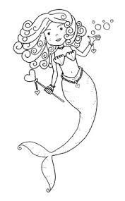 Free Mermaid Coloring Pages At Getdrawingscom Free For Personal