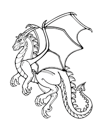 Small Picture Printable Coloring Pages Dragon Coloring Pages
