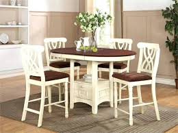 pub height table and chairs pub height table set dark wood round counter height kitchen table