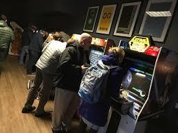 Teen club arcade decoration