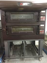 used countertop pizza ovens moretti forni 2 deck electric bakery pizza oven used countertop conveyor pizza oven