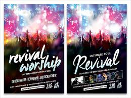 revival flyers templates 51 flyer templates in psd free premium templates