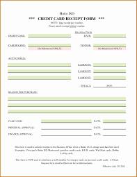 Credit Card Receipt Template Credit Card Expense Report Template Expensive 8 Credit Card Receipt