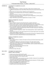 Product Manager Resume Sample Product Marketing Analyst Resume Samples Velvet Jobs 81