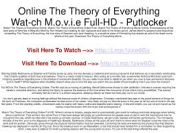 Watch Lights Out Full Movie Online Putlocker Online The Theory Of Everything Wat Ch M O V I E Full Hd