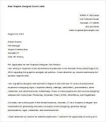 design cover letter samples graphic design job application letter sample graphic