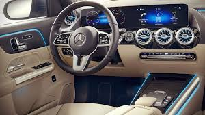It's cute, compact (but not cramped), and easily maneuverable. 2021 Mercedes Gla 250 4matic Interior