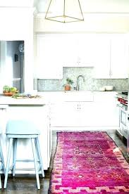 pink kitchen rug and pink and grey kitchen rug