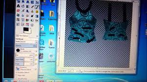 Second Life Design Clothes How To Use Gimp To Make Secondlife Clothes Youtube