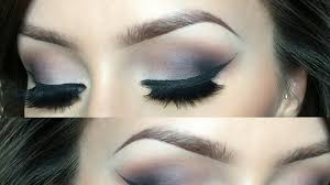 cool toned smokey eye l makeup tutorial