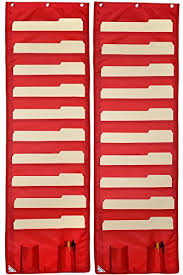 Wall Storage Pocket Charts 2 Pack File Organizers Best