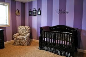 Purple Nursery modern-kids