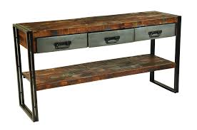 modern wood and metal furniture. Interesting Modern Decoration Wood Console Table With Moti Furniture Addison Reclaimed And  Metal Sofa Drawers Modern Wooden Tables Landon Mixed Rustic Side End In Kitchen
