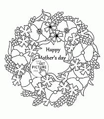 Small Picture Mothers Day Coloring Pages For Kids Printable Free In Mom Coloring
