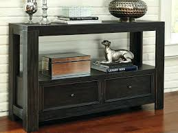 Black Console Table Black High Gloss Console Table With Drawers