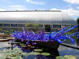 she s taking us on a visit to the new york botanical garden in the bronx where she saw the chihuly glass exhibit a few years ago
