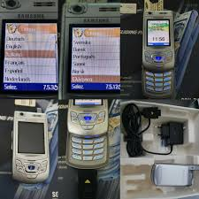 Mobile Samsung SGH d410 GSM Unlocked ...