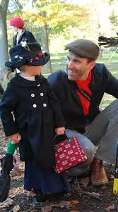 i love how original not to mention adorable this costume is here you have mary poppins and bert