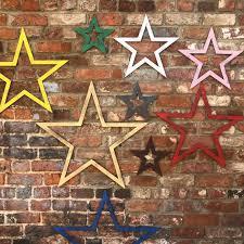 metal stars barn stars shabby chic
