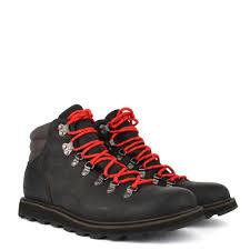 men 039 s madson black leather hiking boot