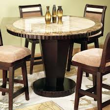 counter height drop leaf table s and chairs with storage 36 inch round
