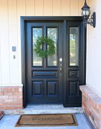 Modern Ranch Reno: New Front Door and Hardware - Classy Clutter