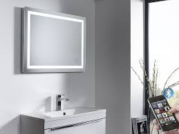 Illuminated Bluetooth Bathroom Mirror with Speakers Roper Rhodes