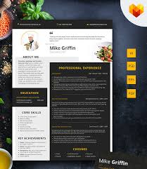 Chef Cv Template Executive Chef Resume Template Head Chef Cv Template Motocms