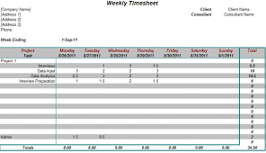 excel project timesheet weekly timesheet for consultants on projects