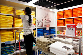 file in this march 10 2016 file photo a sales clerk arranges towels sales clerk jobs