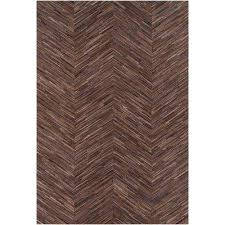 foxcote brown 2 ft x 3 ft area rug