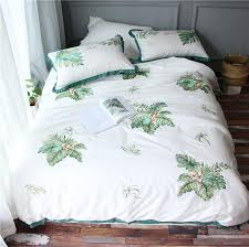 luxury egypt cotton white bedding sets green embroidery bedding set queen king size girls duvet