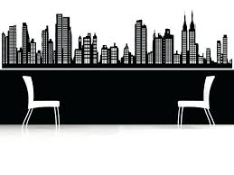 vinyl new city skyline wall decal nyc york sticker together with decals wa