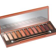it sounds crazy but orange eye shadow will set your blue eyes ablaze blue and