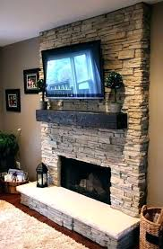 stone fireplace with tv image result for pictures of gas fireplaces above veneer