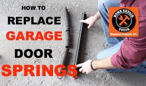 Replace Garage Door Extension Springs With These Tips